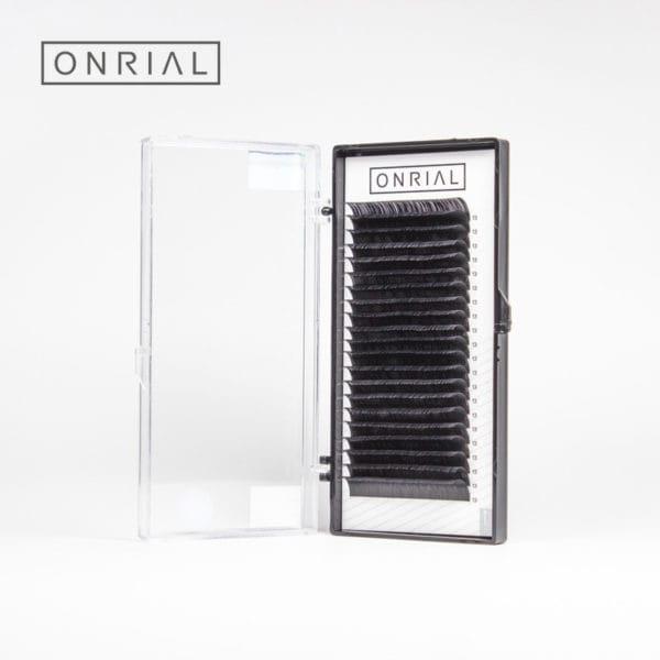 Вій чорні одна довжина 13 Onrial