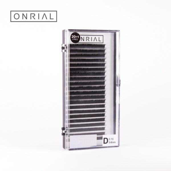 Вейкі чорныя мікс D 0.10 5-8 мм Onrial