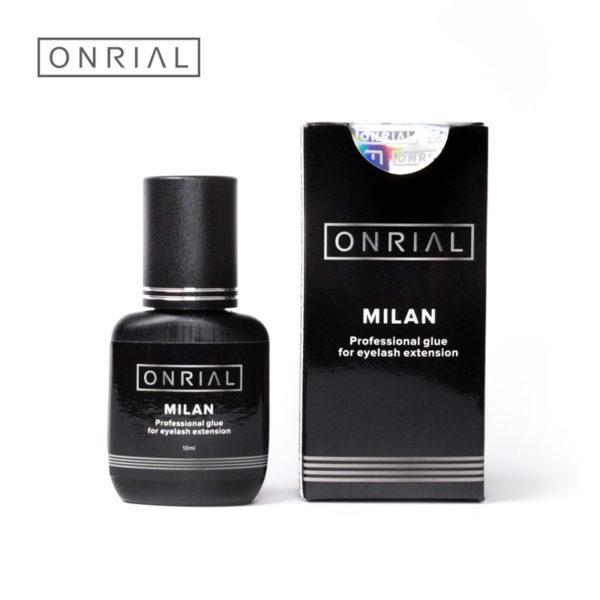 Професійний клей для нарощування вій «Milan» Onrial 10 ml