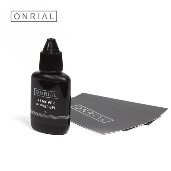 Гелевый ремувер Power Gel Onrial