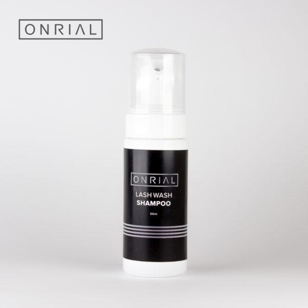 Шампунь для догляду за штучними віями Lash Wash Shampoo Onrial