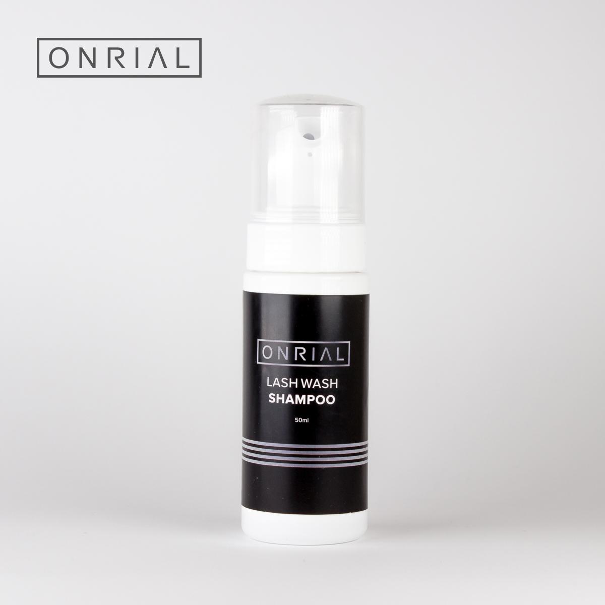Шампунь по уходу за ресницами Lash Wash Shampoo Onrial