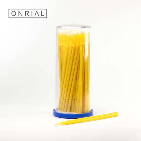 Микробраши XL Onrial жоўтыя