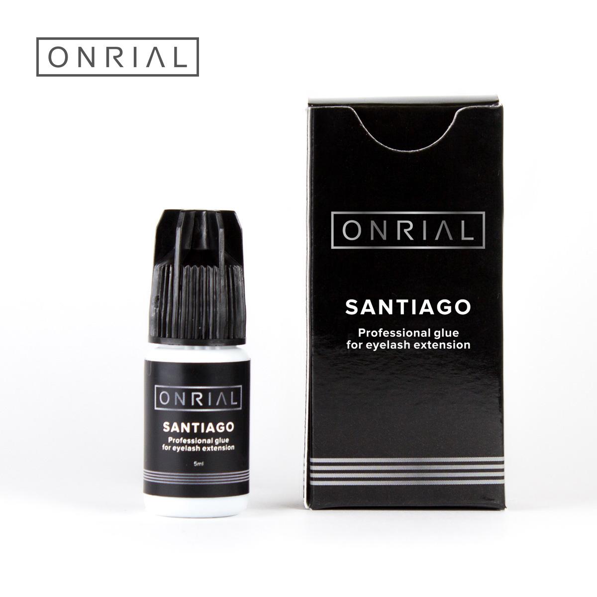 Профессиональный клей для наращивания ресниц «Santiago» Onrial