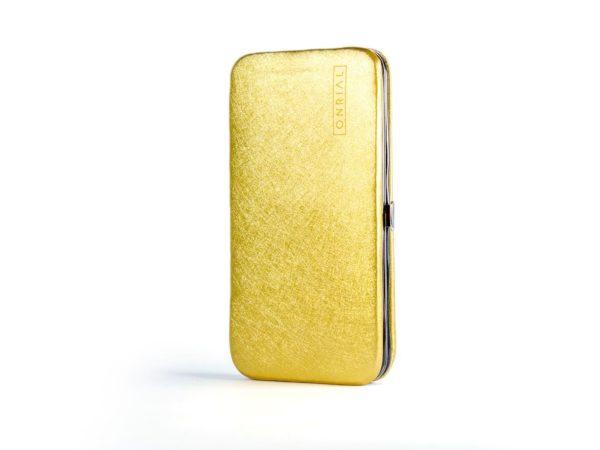 Футляр на магніті для пінцетів (золотий)