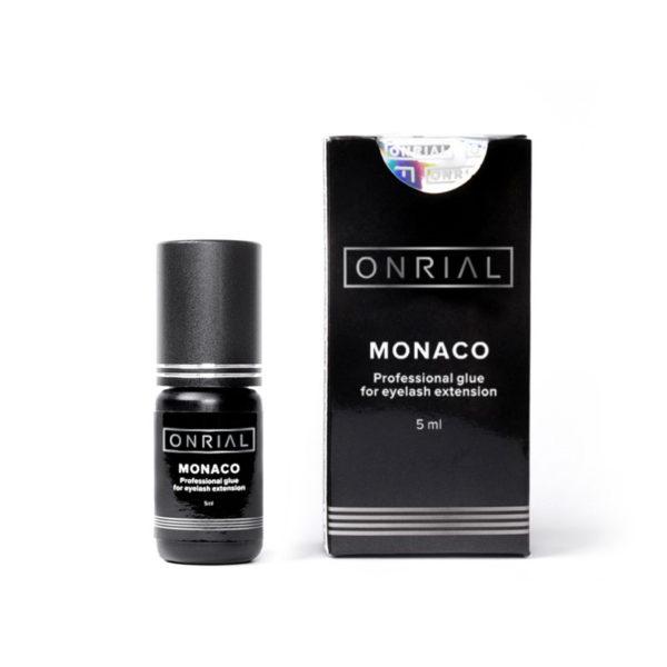 Прафесійны клей для нарошчвання веек «Monaco» 5 ml + коробка - 2