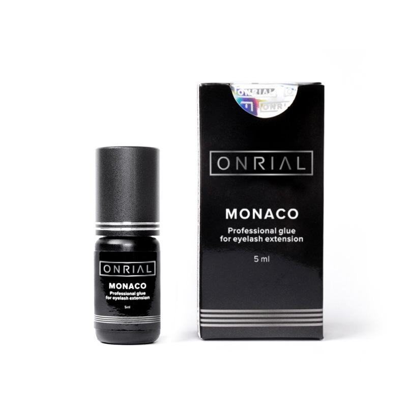 Професійний клей для нарощування вій «Monaco» 5 ml + коробка - 2