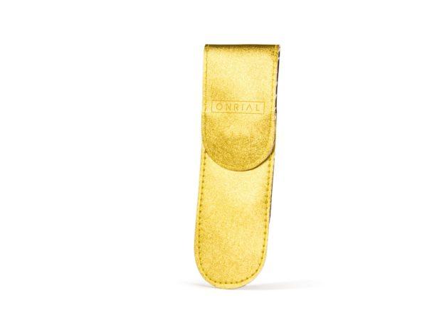 Чохол на 2 пінцети з магнітною кнопкою (золотой)