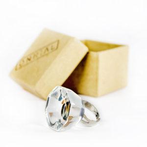Шкляное кольца для клею