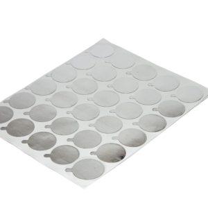 Налепкі для шклянога кальца для клею (30 шт.)