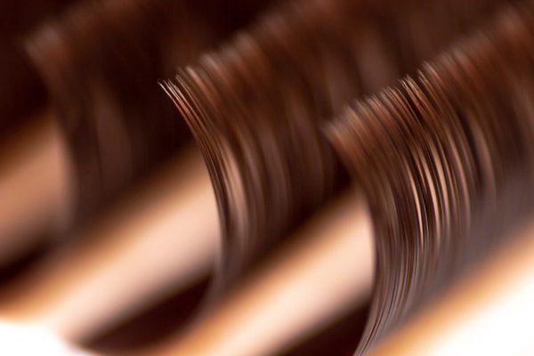Ресницы коричневые микс Onrial